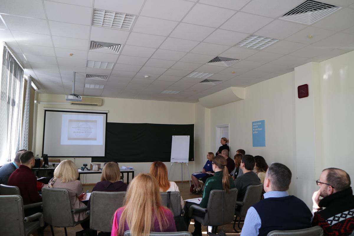 Корпоративный тренинг «ОЩАДБАНК» (2 группа), 25.01.18
