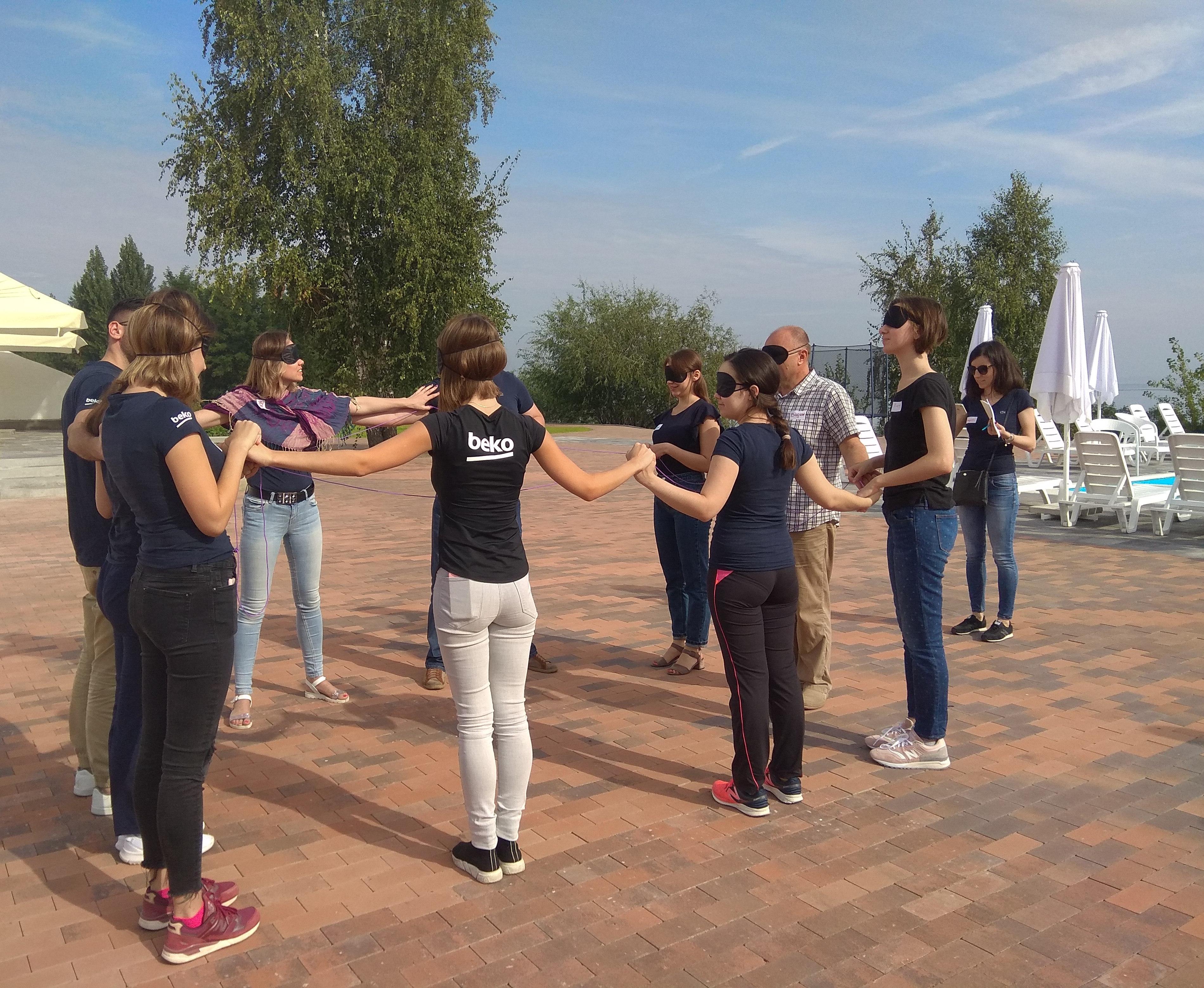 Корпоративный тренинг для компании BEKO, 14.09.18
